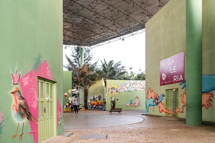 Imagem da área central do CCBJ